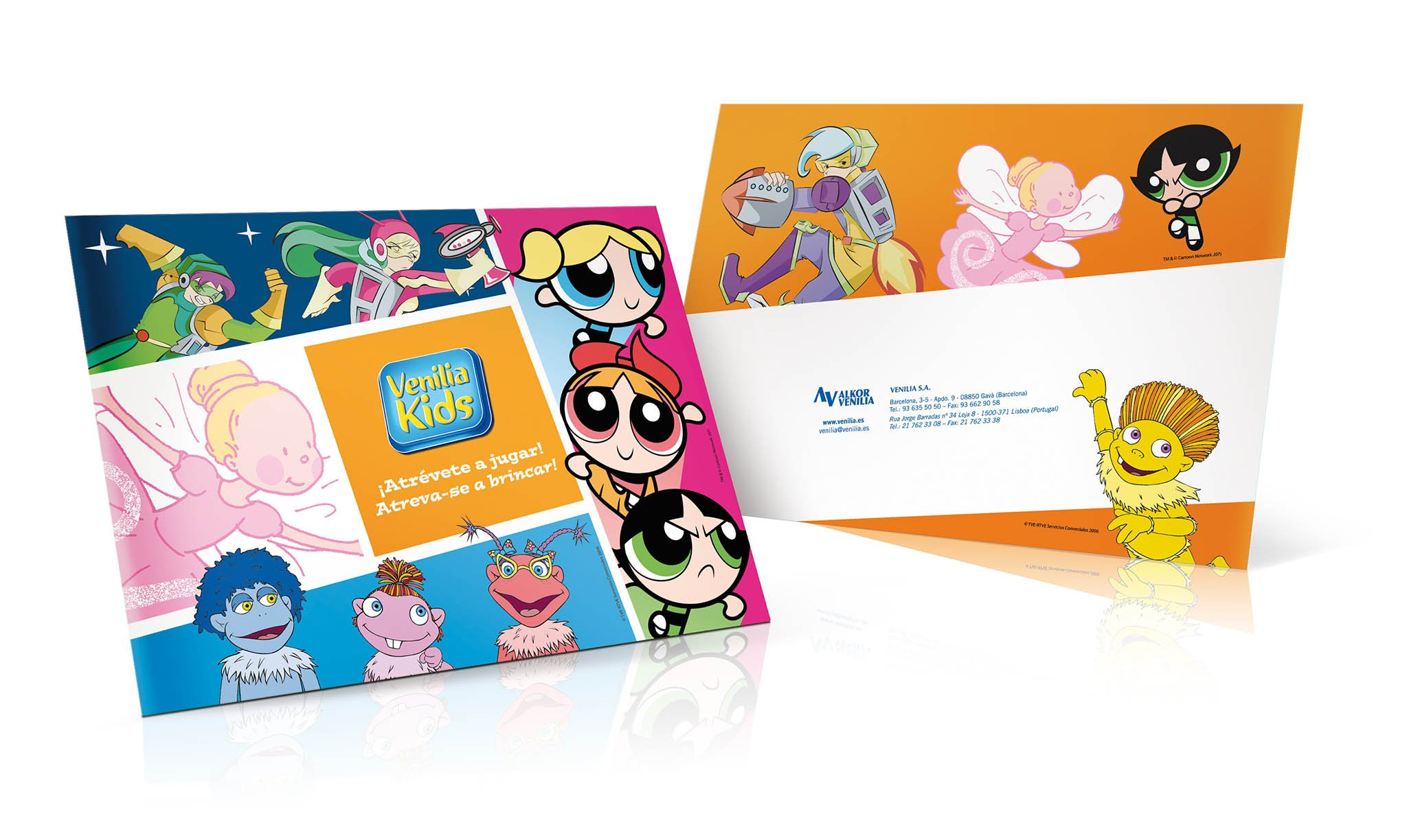 Diseño catálogo niños Venilia