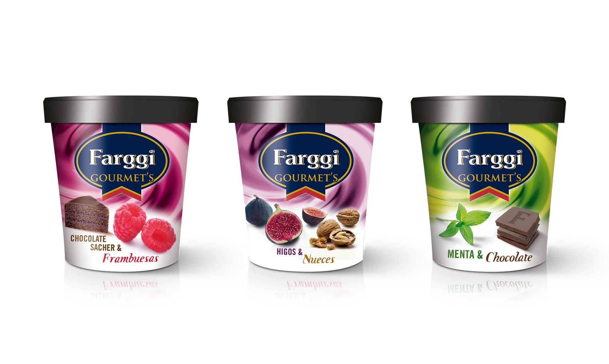 diseño packaging helados Fargi
