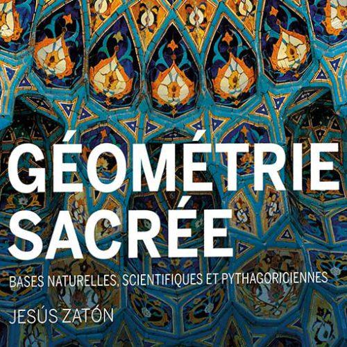 diseño editorial libro géométrie sacrée