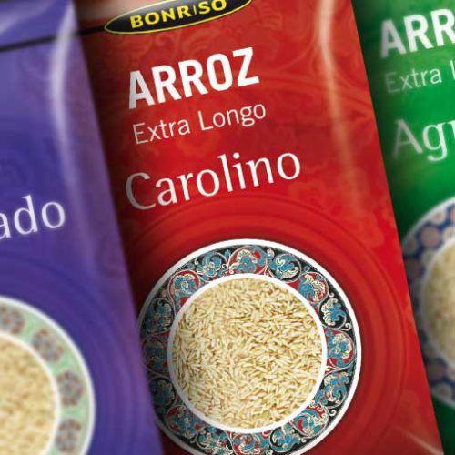 diseño packaging arroz